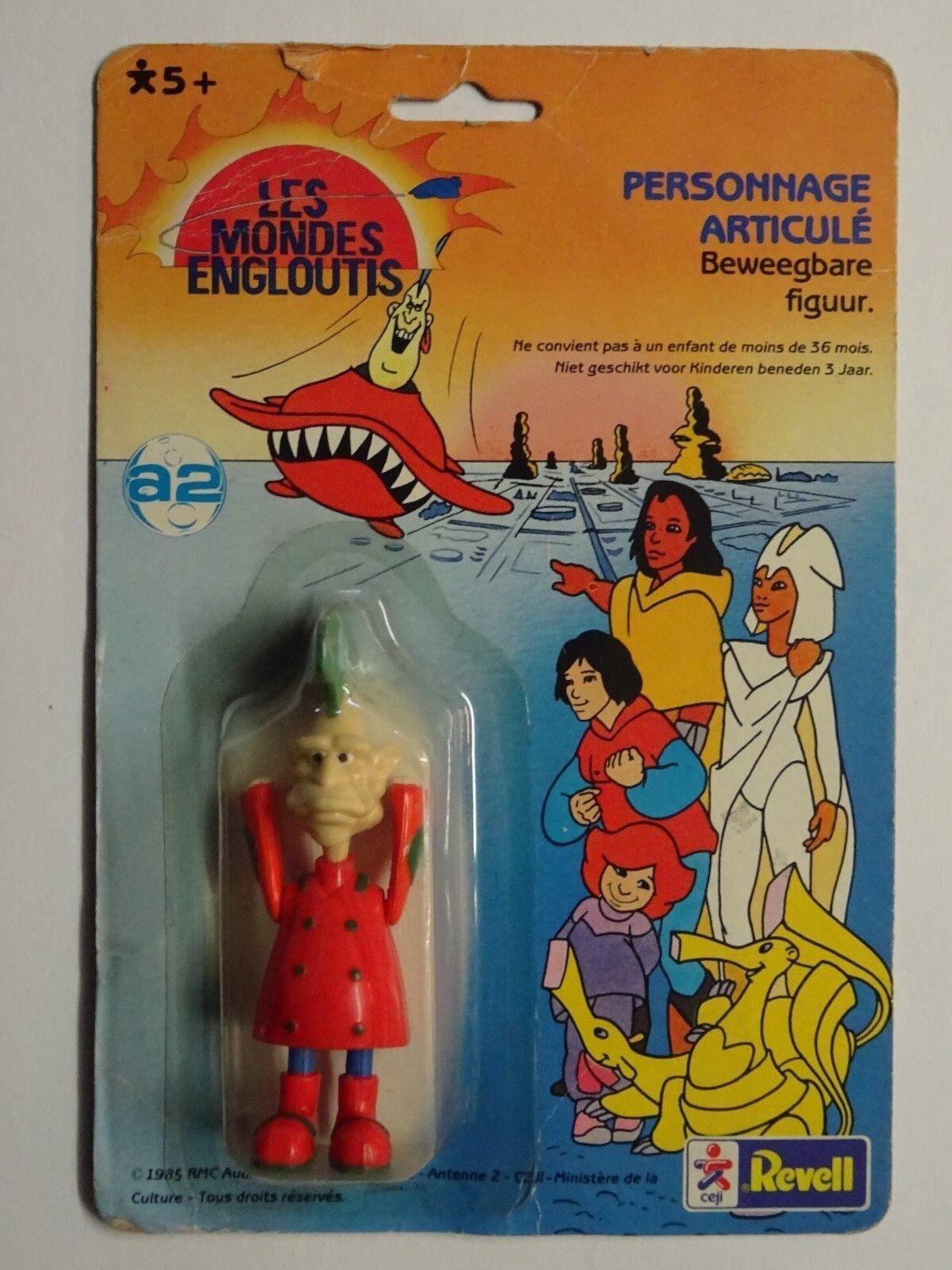 Les Mondes Engloutis - Figurine Vintage - Seskapil - Ceji / Revell 1985
