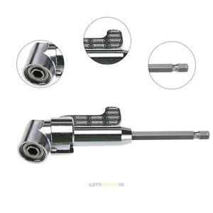 Winkelschrauber-Vorsatz-105-Grad-1-4-034-Bit-Winkelaufsatz-Winkelgetriebe-Akku-Bohr