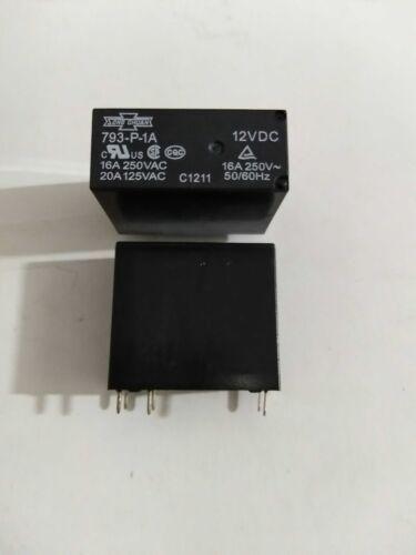 1pcs New 793-P-1A 12VDC genuine SONG CHUAN relay