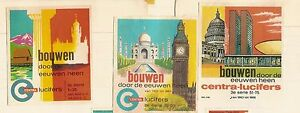 D241-SET-OF-75-DUTCH-BUILDINGS-THROUGH-THE-AGES-MATCHBOX-LABELS-c-1970