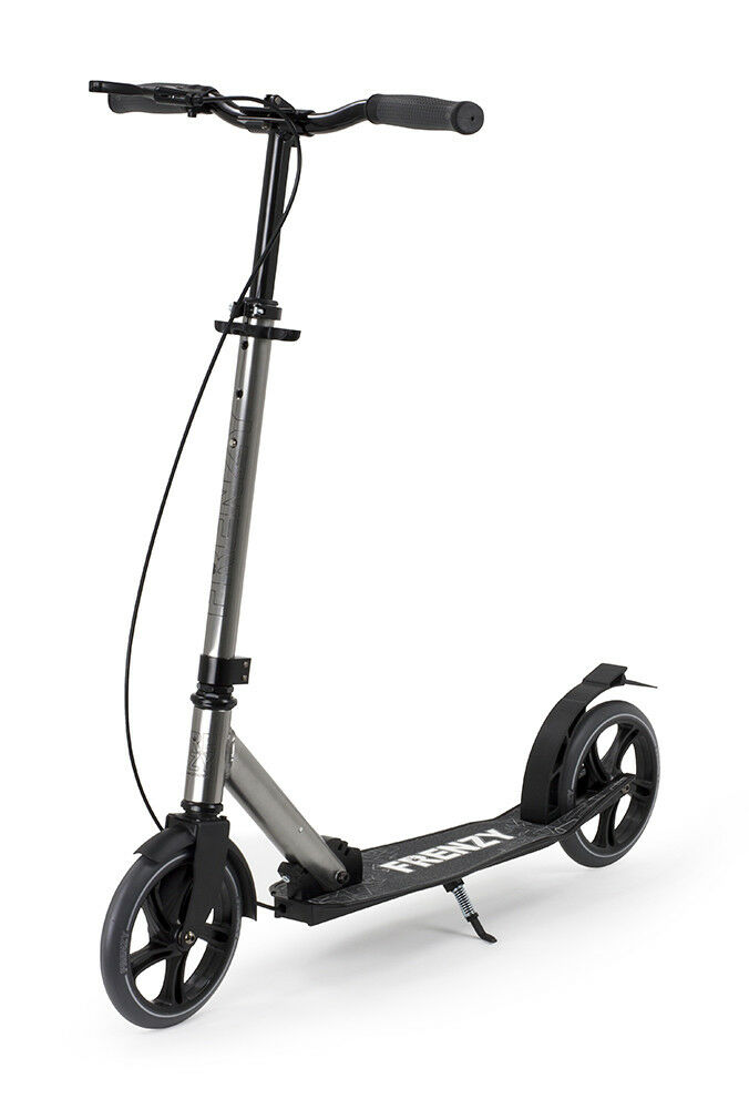 Frenzy 205mm Dual Brake Recreational Scooter - Titanium