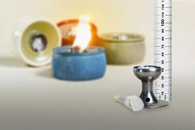 Bastel- & Künstlerbedarf Dochthalter Schmelzlichter Kerzenreste Auch Indoor 4,3 Cm Glasfaserdocht Docht Weniger Teuer