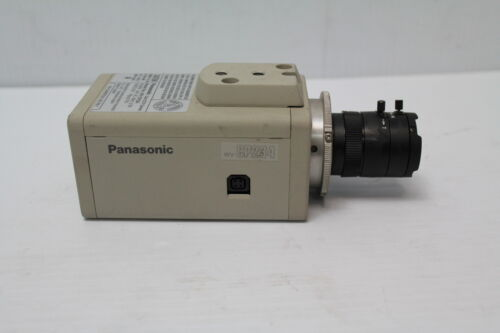 Panasonic WV-CP234 Color CCTV Securty Camera with 3.5-8mm Computar Lens Used