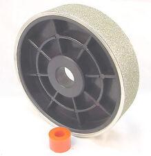 "BUTW 6"" x 60 x 1 1/2"" grit diamond lapidary grinding wheel pl"