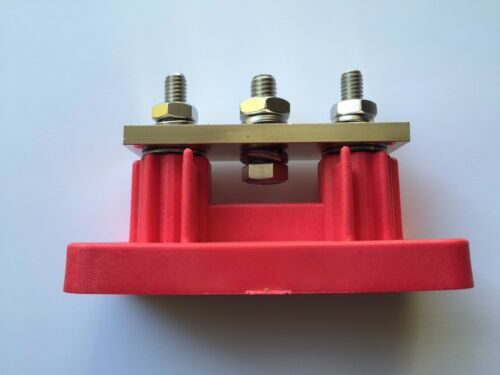 3 point 700 AMP power post junction buss Positive distribution block w// cover