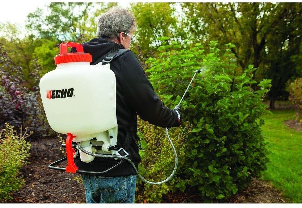 ECHO Backpack Sprayer 4 Gal  Piston-Pump Garden Padded