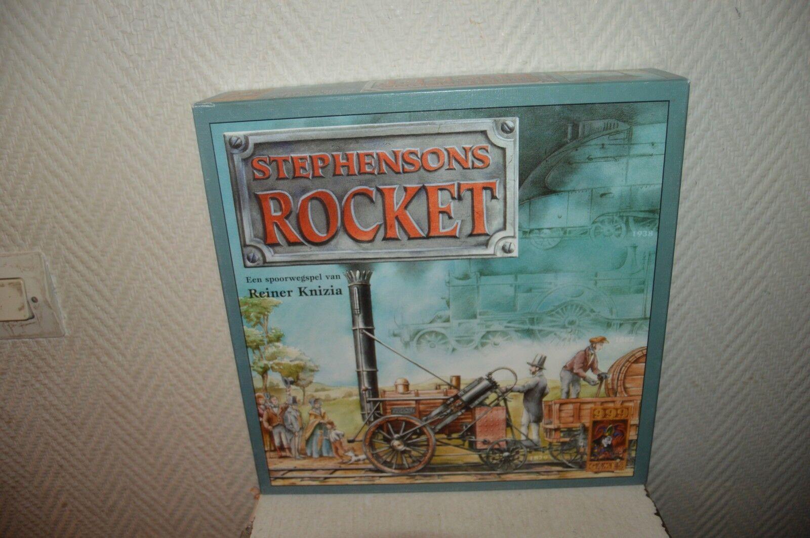 Juego de Volquete Estrategia Stephensons Rocket Tabla 999 Vintage 1999 Completo