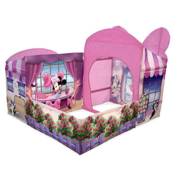 Playhut Tent Kids Play House Minnie Mouse Cottage Pop Up