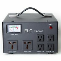 5000 Watt Voltage Converter STABILIZER 110 220V Up/Down