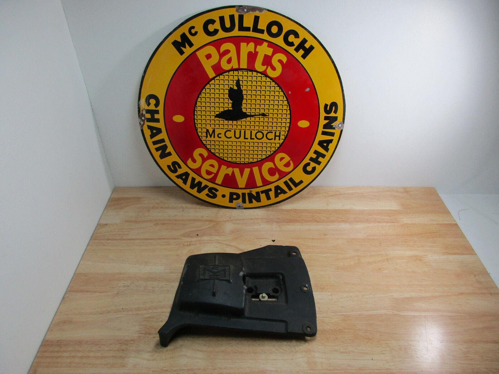 Genuine McCulloch Chainsaw Bar Cover Super 250 S550 450 1-51 1-53 1-43 380 250