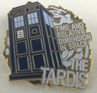 The TARDIS Doctor Who Science Fiction TV Series Logo - Danbury Mint Enamel Pin