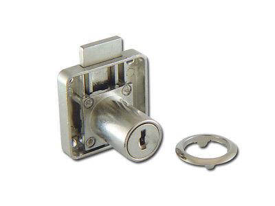 25 pcs Push plunger locks for sliding doors chrome  N506-12-110 keyed the same