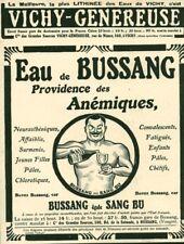 Publicité ancienne eau de Bussang 1908 issue de magazine