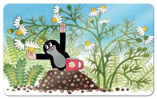 Frühstückbrettchen Der kleine Maulwurf Kamille Schneidebrett Schneidebrettchen