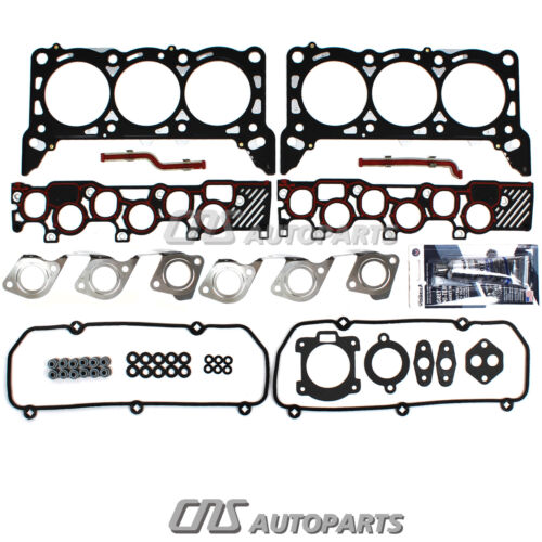 Head Gasket Set Bolts Fits 97~1//4//98 Ford E150 E250 F150 4.2L V6 OHV 12v TRITON