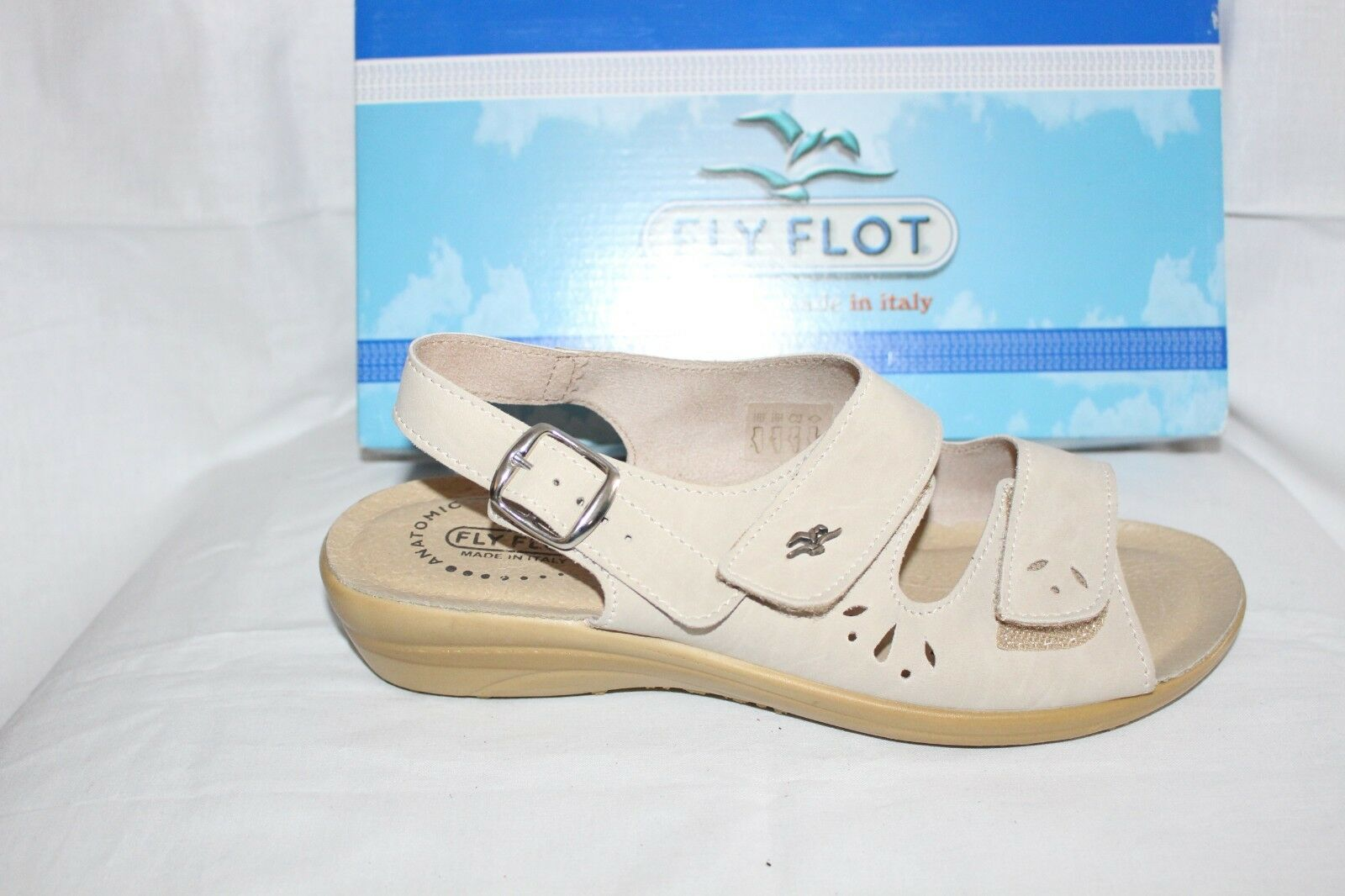 LADIES SHOES SHOES SHOES FOOTWEAR - Flyflot Sandal 36539 beige 06d57b