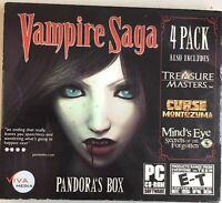 Vampire Saga 4 (pandora's Box / Treasure Masters, Inc. / Curse Of Montezuma / M…