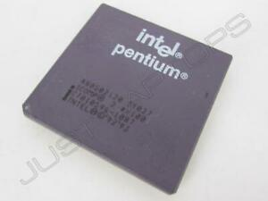 Intel Portable Pentium 120 120MHz Processeur CPU A80502120 SY027 Prise 5 7