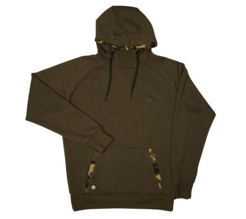 Camo Kaputzenhemd/Kapuzenpullover Pullover & Sweaters Fox Chunk Dunkel-Khaki Angelsport