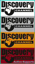 Black Discovery Channel REFLECTIVE Sticker SUV 4WD AWD 4X4 xDRIVE 4 MATIC CR-V