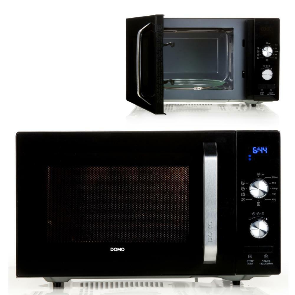 23l microonde 8-programmi di cucina funzione scongelamento PIATTO GIREVOLE Microwelle DOMO do2924