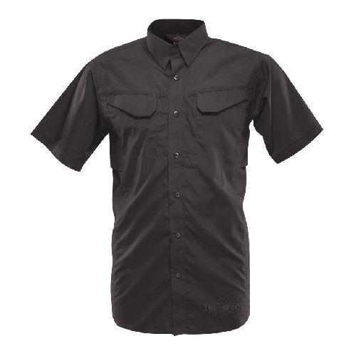 TRU-SPEC Men's Lightweight 24-7 Short Sleeve Field  Shirt, Khaki, X-Small  best price