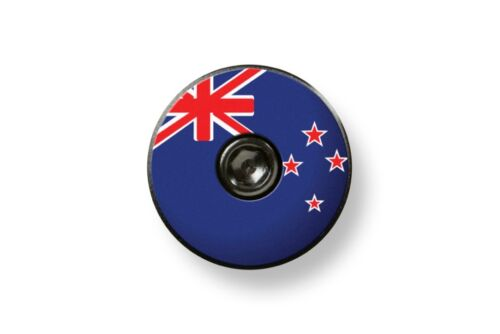 New Zealand Flag Bikelangelo 1 1//8 Headset Top Cap