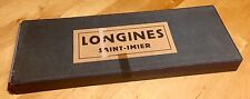 VINTAGE Orologio LONGINES BOX 1920s parti CHRONO AMMIRAGLIO Lindbergh Tasca Santiago Calatrava