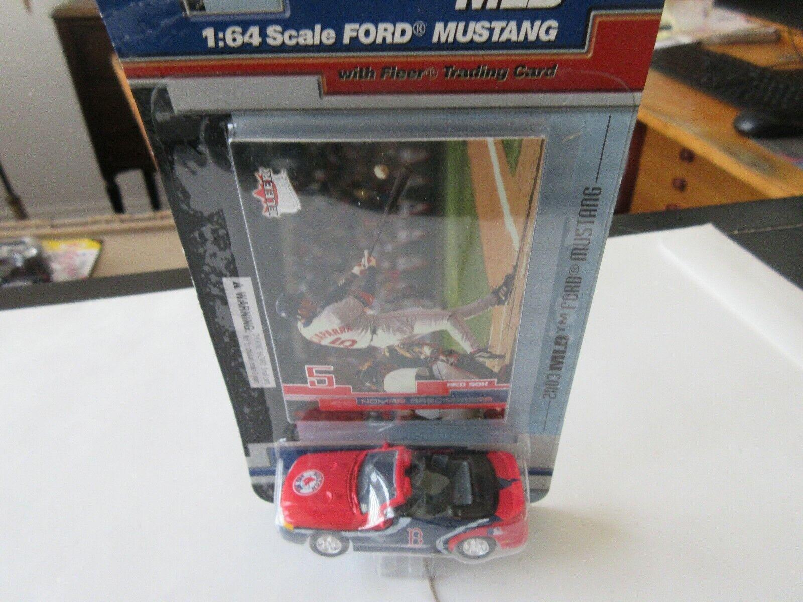Nomar Garciaparra , Fleerr , 1:64 Scale Ford Mustang &