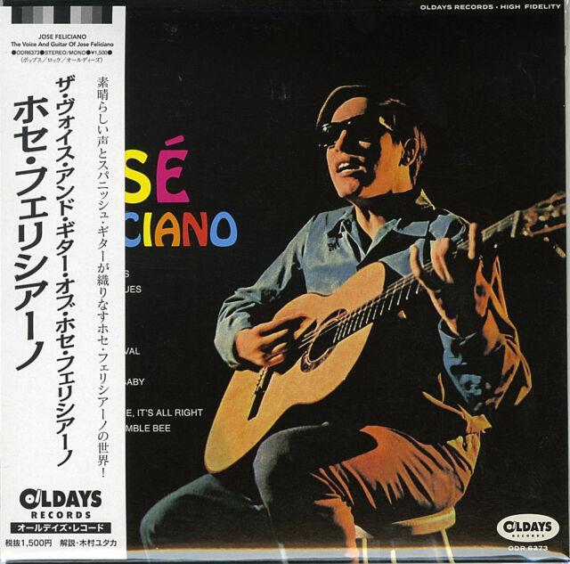 JOSE FELICIANO-THE VOICE AND GUITAR OF JOSE...-JAPAN MINI LP CD BONUS TRACK C94