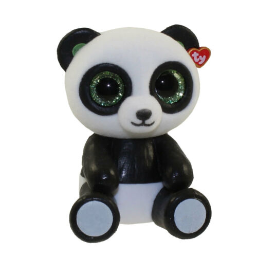 TY Beanie Boos Mini Boo Series 1 Collectible Figures BAMBOO Panda Bear 2 inch