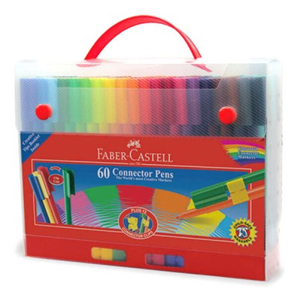 fabercastell 155560 connector felttip pen  pack of 60