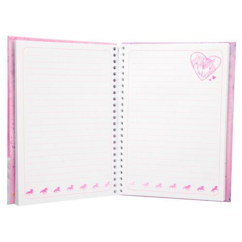 Stifte Lineal Depesche 8942 Pferd Miss Melody Notizbuch mit Schreibset Notes