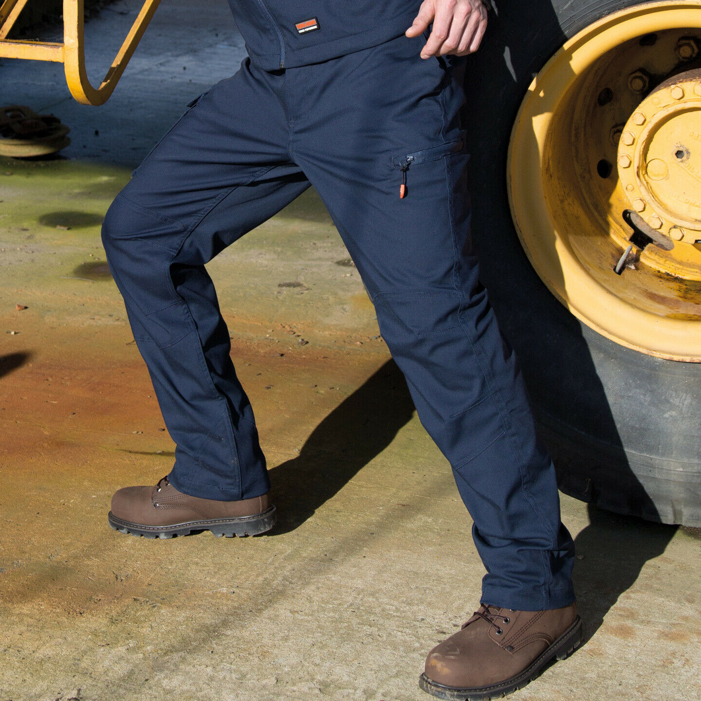 Result Sabre Stretch Work Wear Trousers Mens Cargo Combat Tech Pants (R303X)