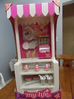 My Life 18 Doll Bake Sale Snack Stand Register Food Fits Our Generation Ag