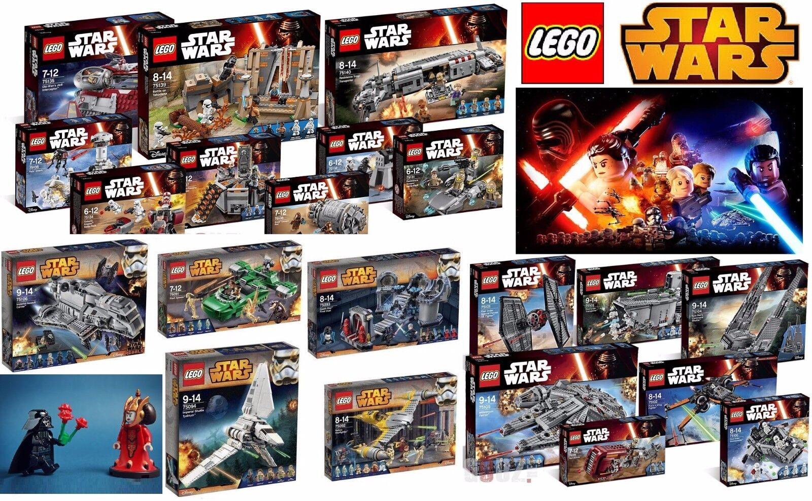 STAR WARS LEGO® SET POLYBAG LOTTO ESCLUSIVI ORIGINALI MISB NUOVI SIGILLATI LEGO