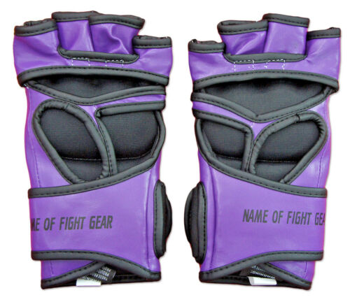Grappling Gloves MMA Gel Padded Sparring Strik UFC Fight Cage Training Boxing