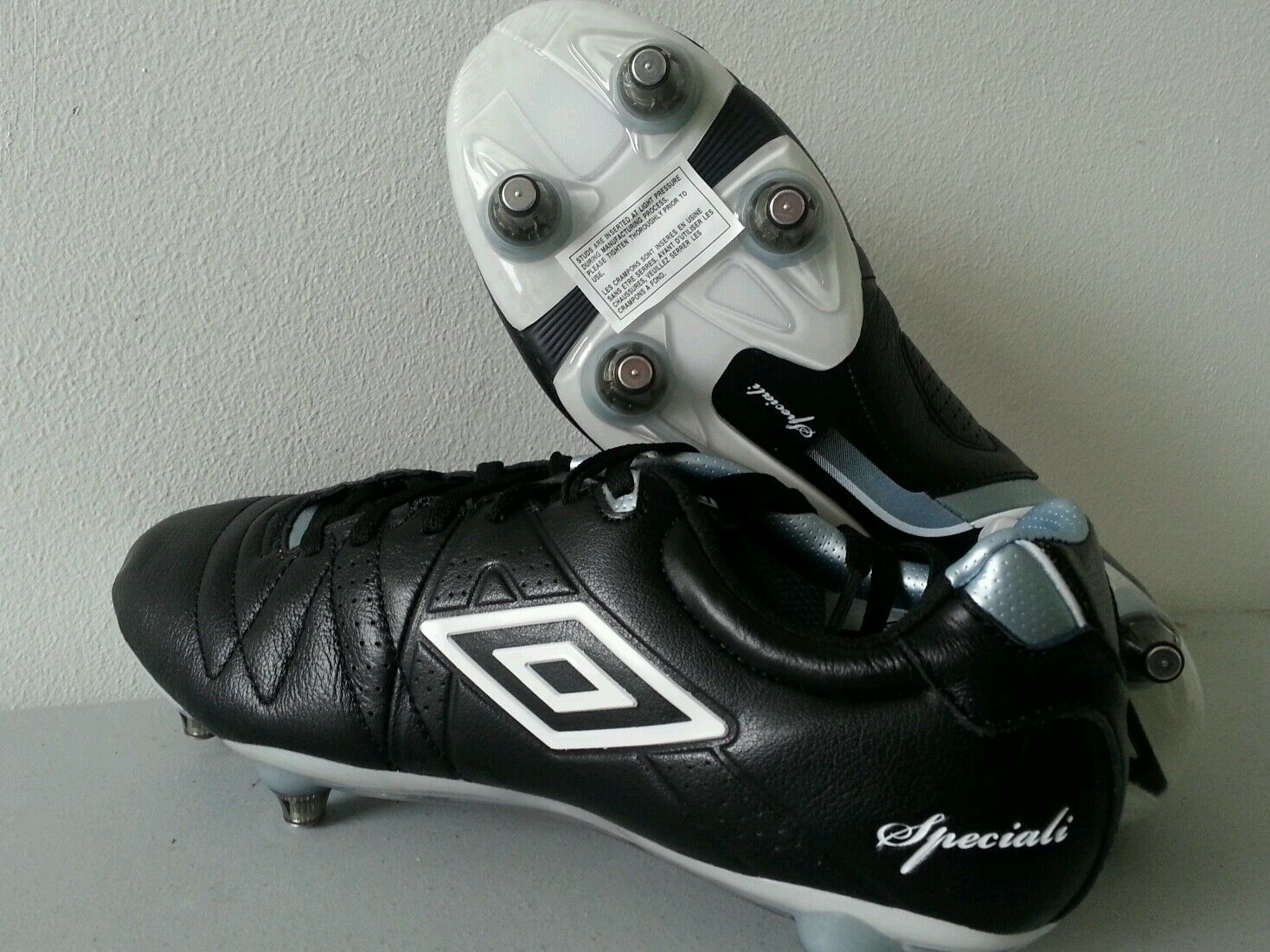 Speciali Pro 3 Football Boots shoes SG leather Kanga Touch 6.5 7 80509UCTT  T167
