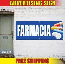 Farmacia Banner Advertising Vinyl Sign Flag Pharmacy Drugstore Open Dispensary