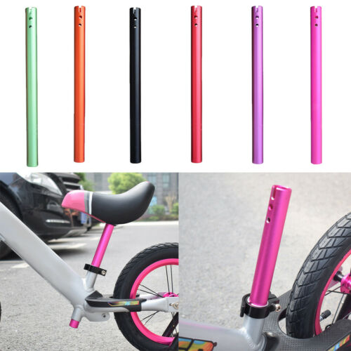 Aluminum Kids Bike Seat Post Seatpost Pole Child Balance Bicycle Seat Components