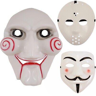 Mettere In Guardia Nuovo Puzzle Halloween, Hockey, Vendetta Maschere Spaventoso Costume Accessorio-mostra Il Titolo Originale