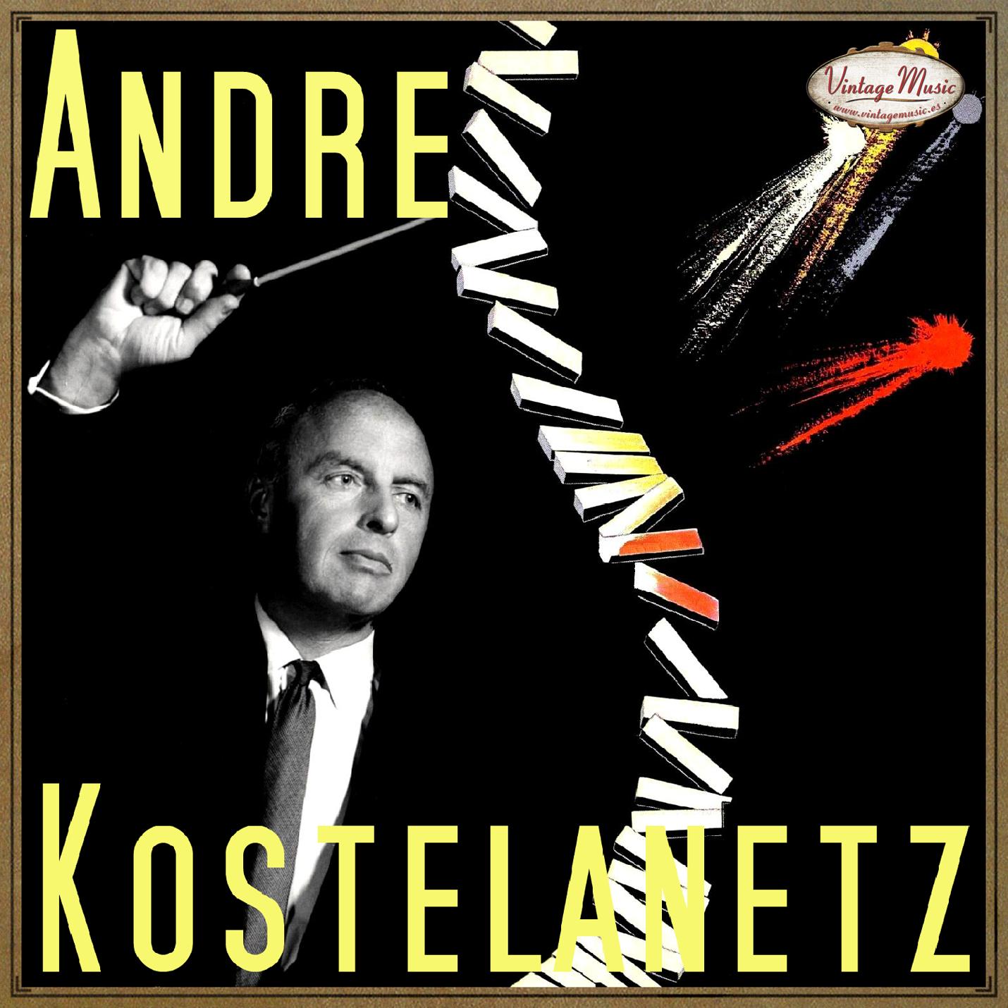 Andre Kostelanetz - ANDRE KOSTELANETZ CD Vintage Jazz Swing. Ol' Man River , Smoke Gets In Your Eyes , Who ... - CD
