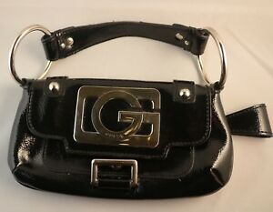 a7631c58e1cbe Guess Black Ladies Clutch Purse Bag Handbag Pouch Magnetic Buckle ...