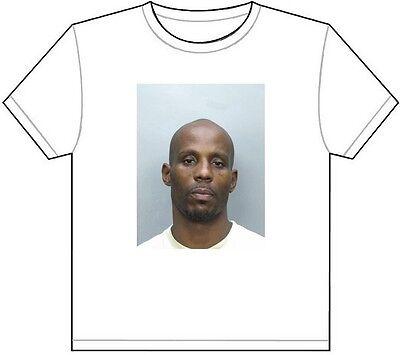 DMX MUG SHOT T-SHIRT TEE PICTURE PHOTO mugshot rap ruff ryders hip hop dog 562