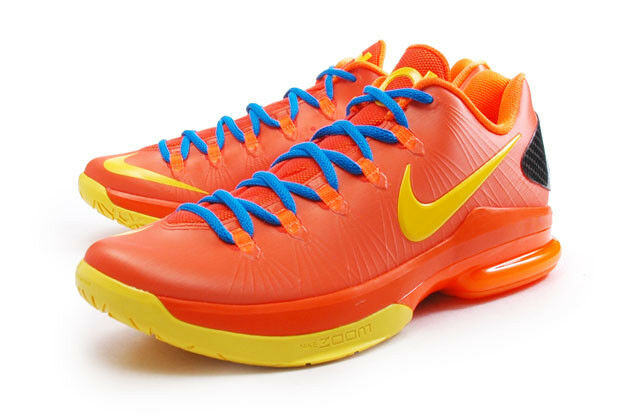 2018 Nike Zoom KD V Elite SZ 9.5 Team Orange 585386-800