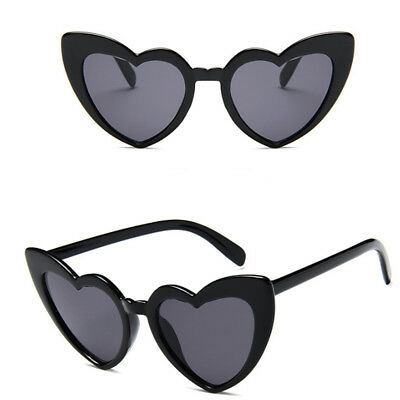 New love ladies sunglasses cute heart trend heart-shaped glasses Cat Eyes