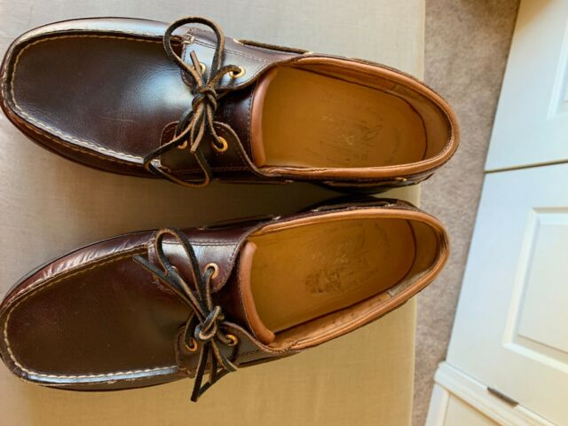 Men's Sperry Top Sider Gold Cup ASV 2 Eye Boat shoes Amaretto Brown Size 12