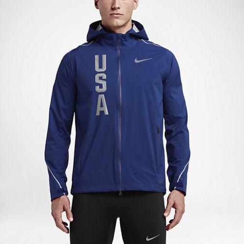 Nike Herren Hypershield Team USA Laufjacke Sparen Sie Groß