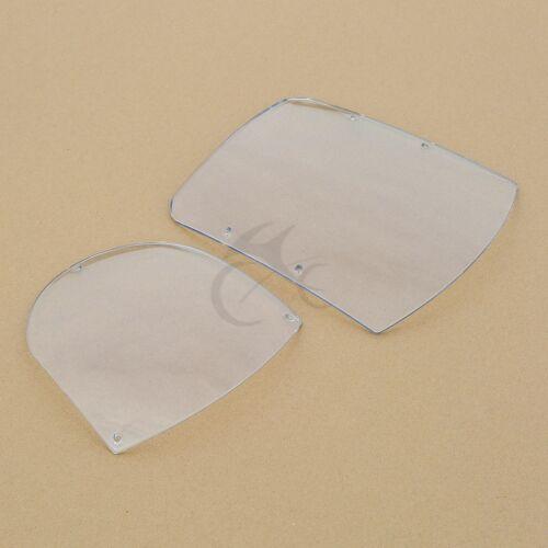 ABS Windshield Quarter Fairing Kit For Dyna 95-05 Sportster XL 88-16 FXR 86-94