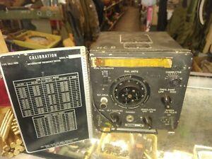 WW 2 USN  PBY Catalina Seaplane USN Frequency Meter Type CKB-74028,LM-14 Radio